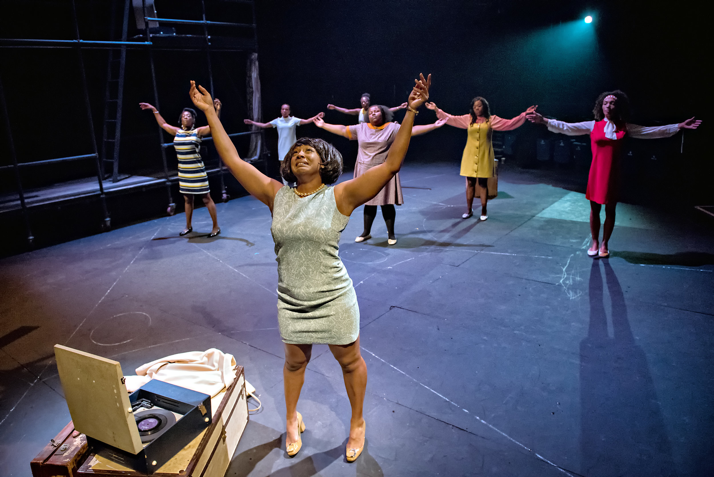 Elexi Walker and the Community Ensemble in Queen of Chapeltown. Photography by Anthony Robling.jpg