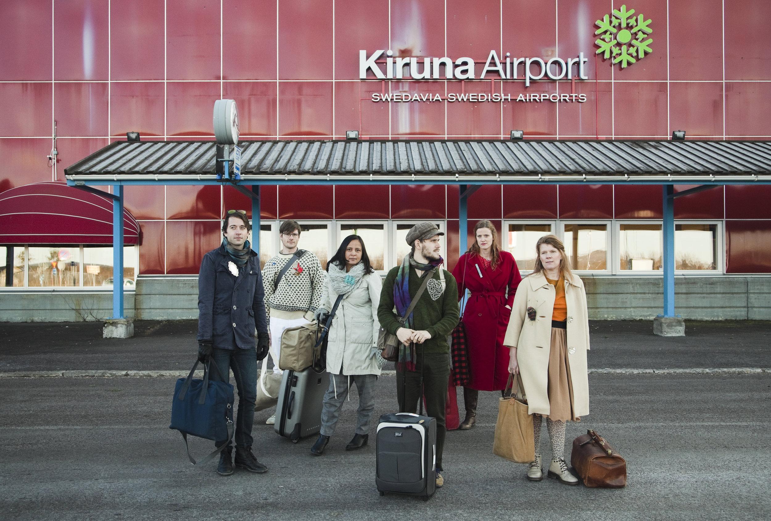 Travelling exhibition     Kiruna     Photo Jonas Isfält