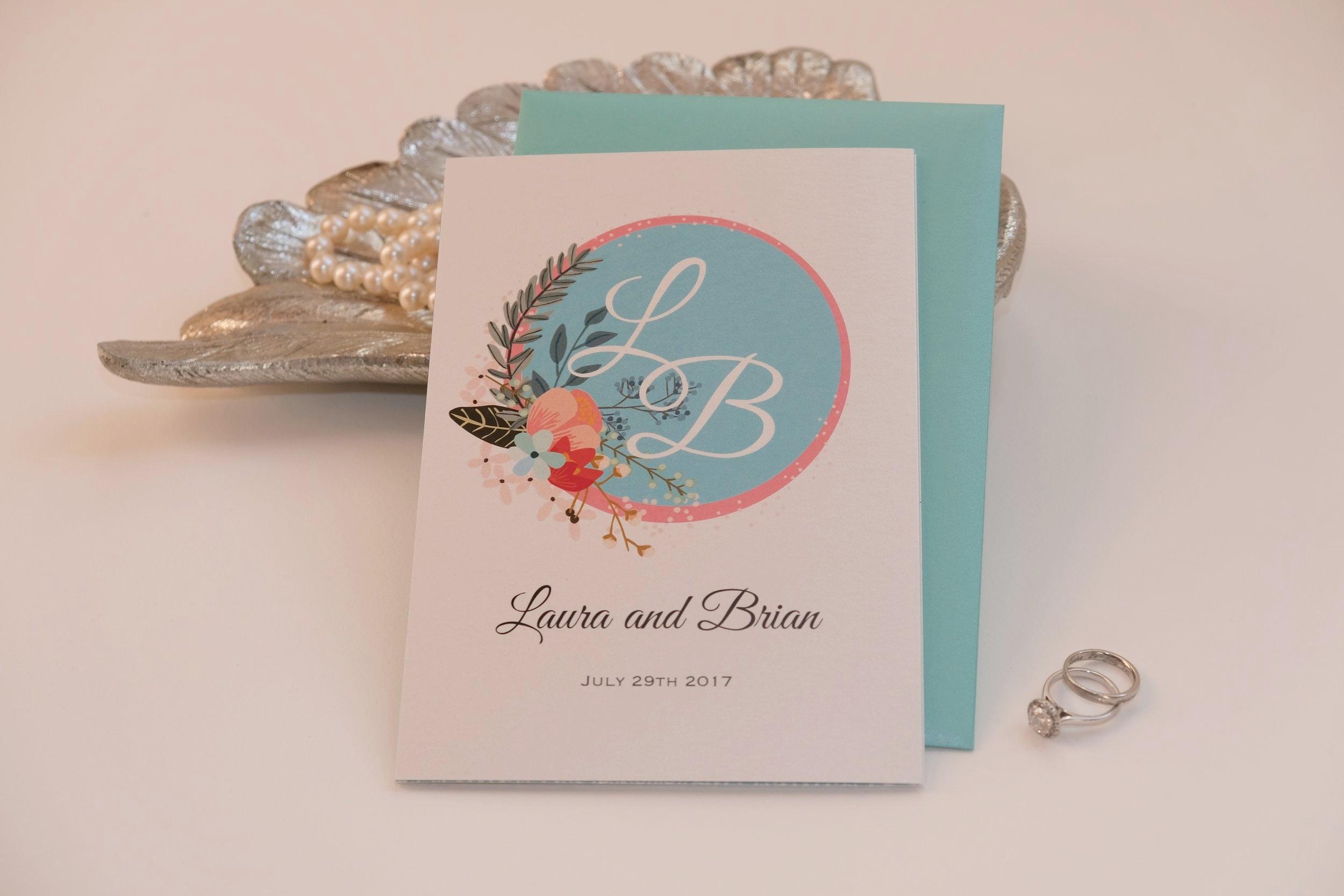 Perfect Moments Wedding Invitation