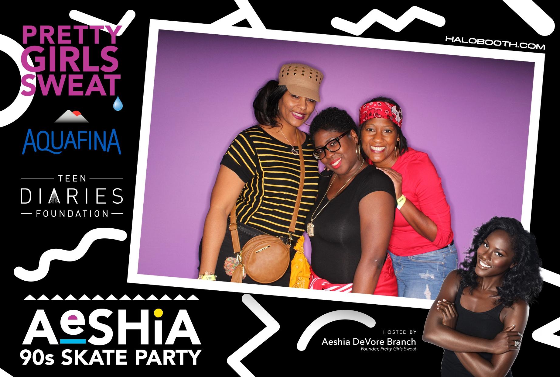 Aeshia's 90s Skate Party @ Sparkle - Presented by Aquafina