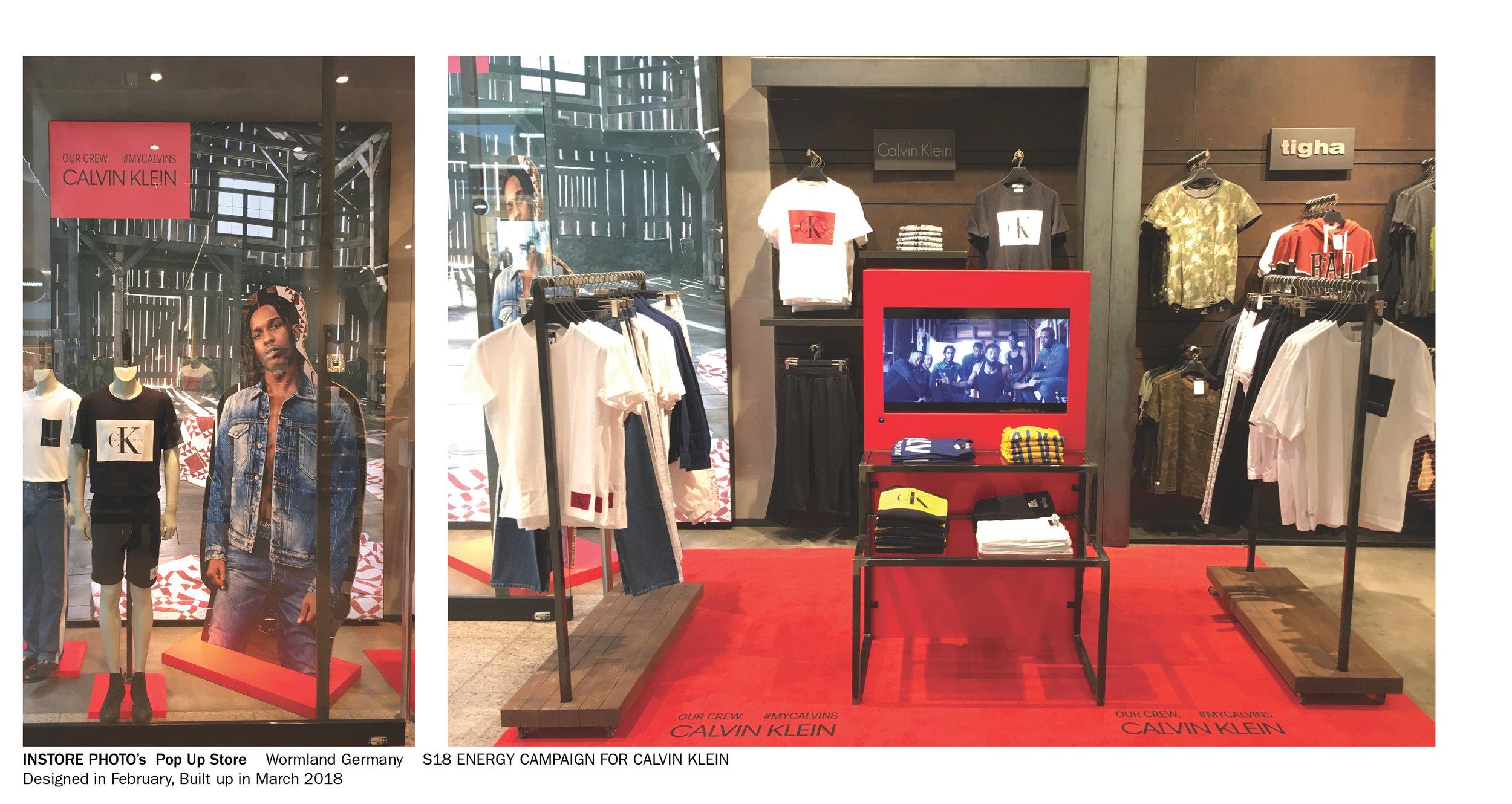 Outlet Stoelen Design.Calvin Klein 3d Retail Design Iva2d3d