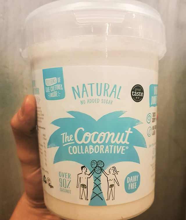 Now in stock!! From the coconut collaborative, founded 5 years ago with the goal to encourage people to switch from dairy to coconut yoghurt and save up to 80% on co2 emissions. . .  Coconut collaborative coconut yoghurt 950g . .  Dairy free, over 90% coconut, creamy and truly scrumptious . . #vegan #coconutlove #natural #yoghurt #dairyfree #tastesgood #doesgood #foodservice #foodsupplier #7days