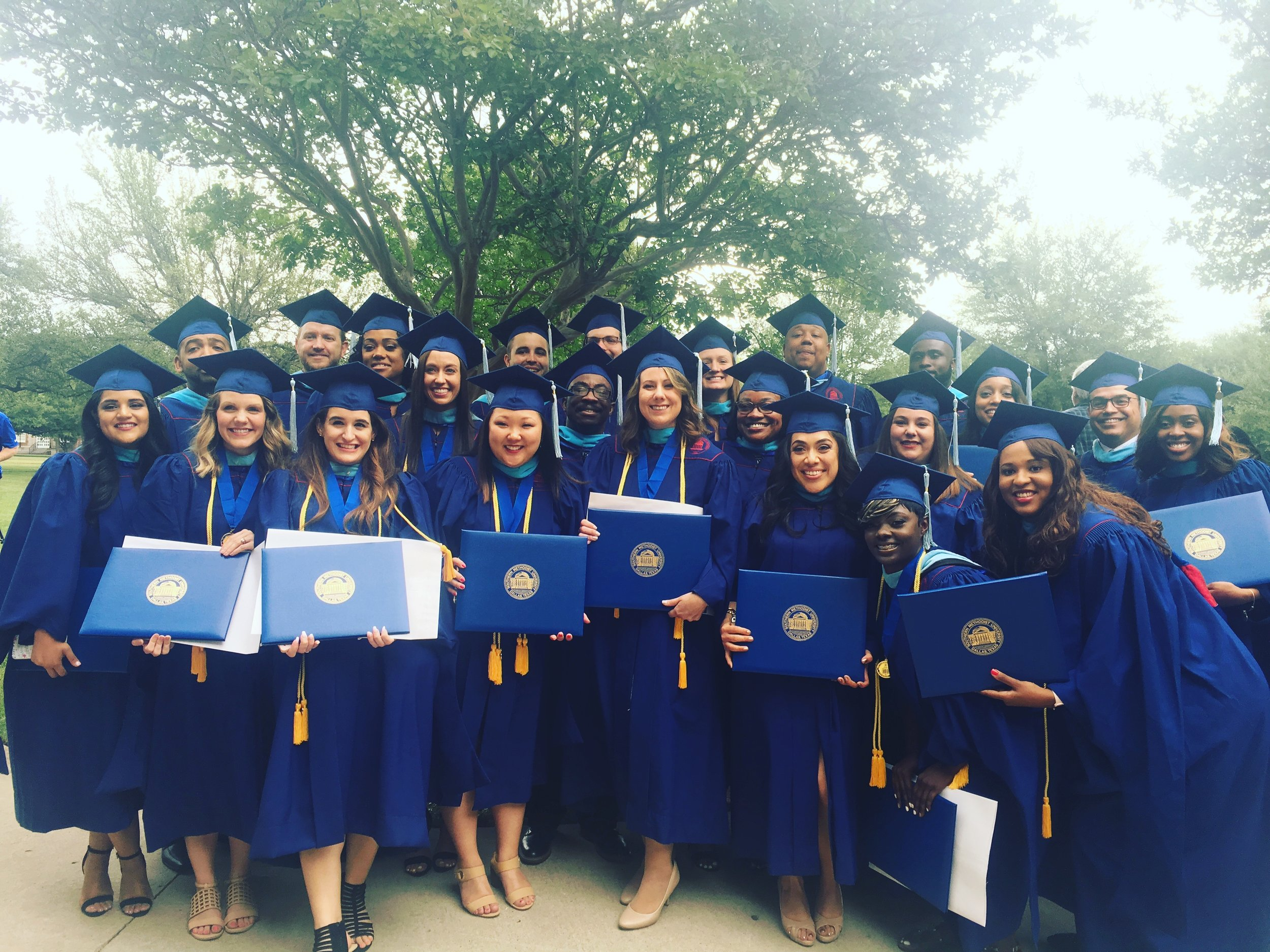 Teaching Trust Aspiring Leaders earn their M.Ed. from SMU following the completion of an on-campus residency year.