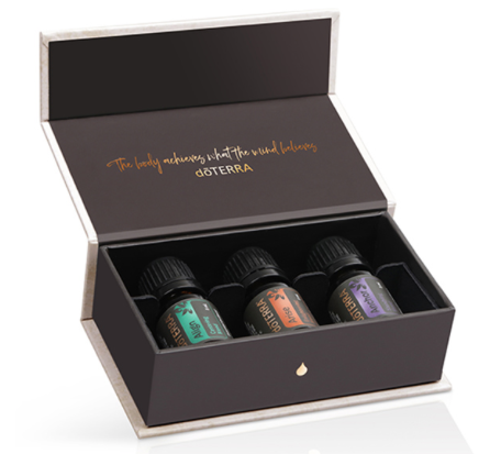 GIFT WITH PURCHASE - Receive this beautiful collection of DoTERRA Essential Oils when you purchase the 12-week package.An exclusive trio of CPTG® essential oil blends for the yogi in you. Anchor, Align, and Arise are the perfect blends to enhance your life and yoga practice.These blends provide aromas to steady, center, and enlighten your spirit through every breath while strengthening and stretching your body.