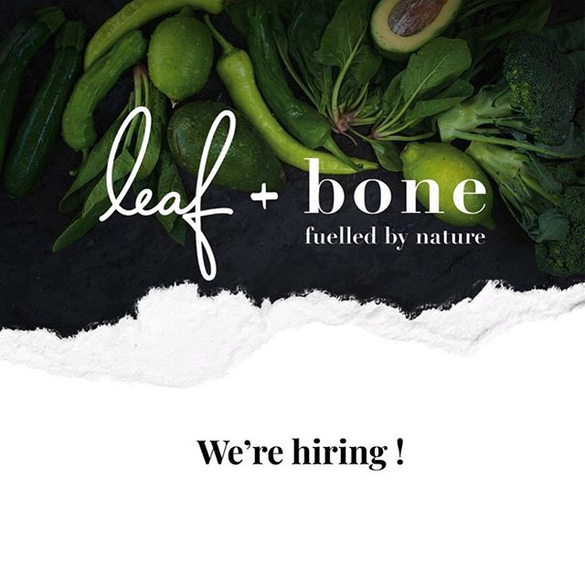 We're looking for some rock star team members to join us at Leaf + Bone as we set to open our first brick and mortar cafe in South Riverdale 🥦 Front of house and back of house positions available. Message us for for information! ☕️ #jobstoronto #toronto #torontocafe #coffeetoronto #healthycafe #leslieville #riverdalecafe #riverdale #eastendtoronto