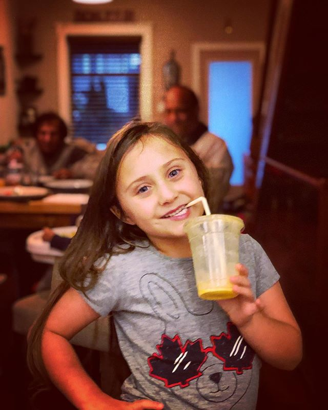 My friend @keepinitrhea started this super cool movement, to celebrate wellness and also to commemorate her pops. it's called #globalsmoothieday and it's a chance to share your pics enjoying the good stuff and recipes! Here's my sweet Mimi enjoying our @leafandboneto  Mango Lassi! 🥭🥥 Recipe: ✅ mango ✅ coconut milk ✅fresh tumeric ✅ginger ✅cardamom ✅rosewater ✅lacuma ✅camu camu ✅chopped pistachios to garnish  Bottoms Up!  Happy Global Smoothie Day Y'all! 🥭 *** ALSO*** Why is there no smoothie emoji!!!?? I mean there's one for a bento box...🙄 #globalsmoothieday #globalsmoothieday2019 #awareness #community #nutrition #optimalhealth #healthiswealth #blendtec @blendtec