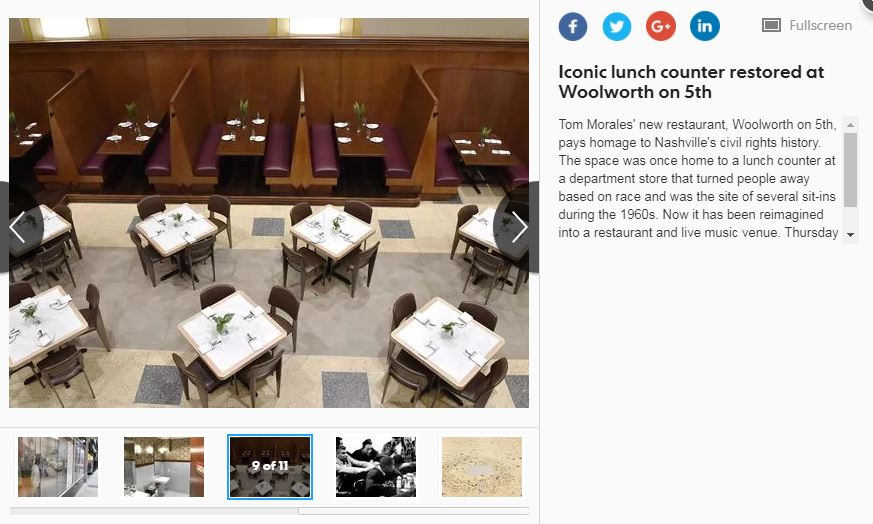 Woolworth featured in The Tennesseean