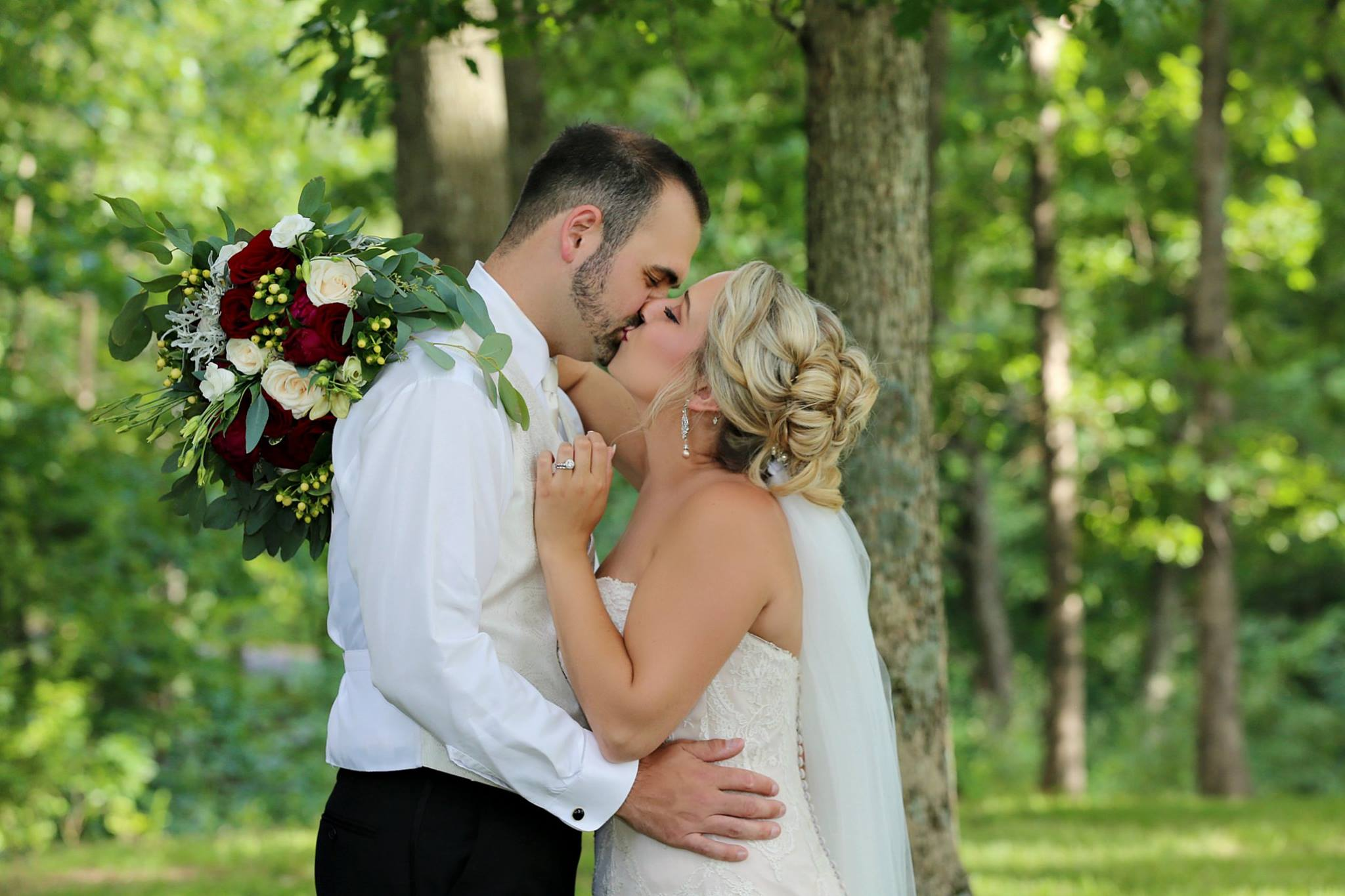 Photograph of Mr. and Mrs. Zach Waddell. (Brittany Bailey Photography)