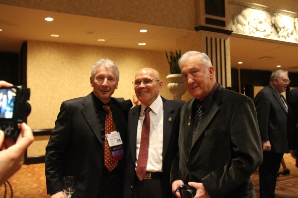 Dr. Champagne, IJO Editor, Dr. Richmond Cheng and Dr. Merle Loudon posed for the camera before the Annual Banquet.