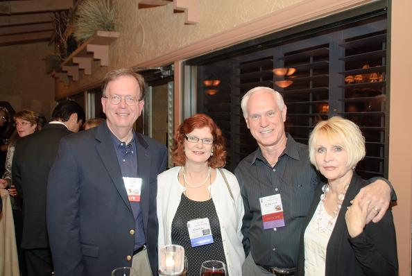 IAO Executive Director Detlef Moore (left) and IAO Secretary Dr. Jim Poyak (3rd from left) with their wives