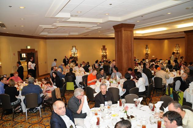 IAO Members enjoy lunch at the IAO General Assemble Luncheon