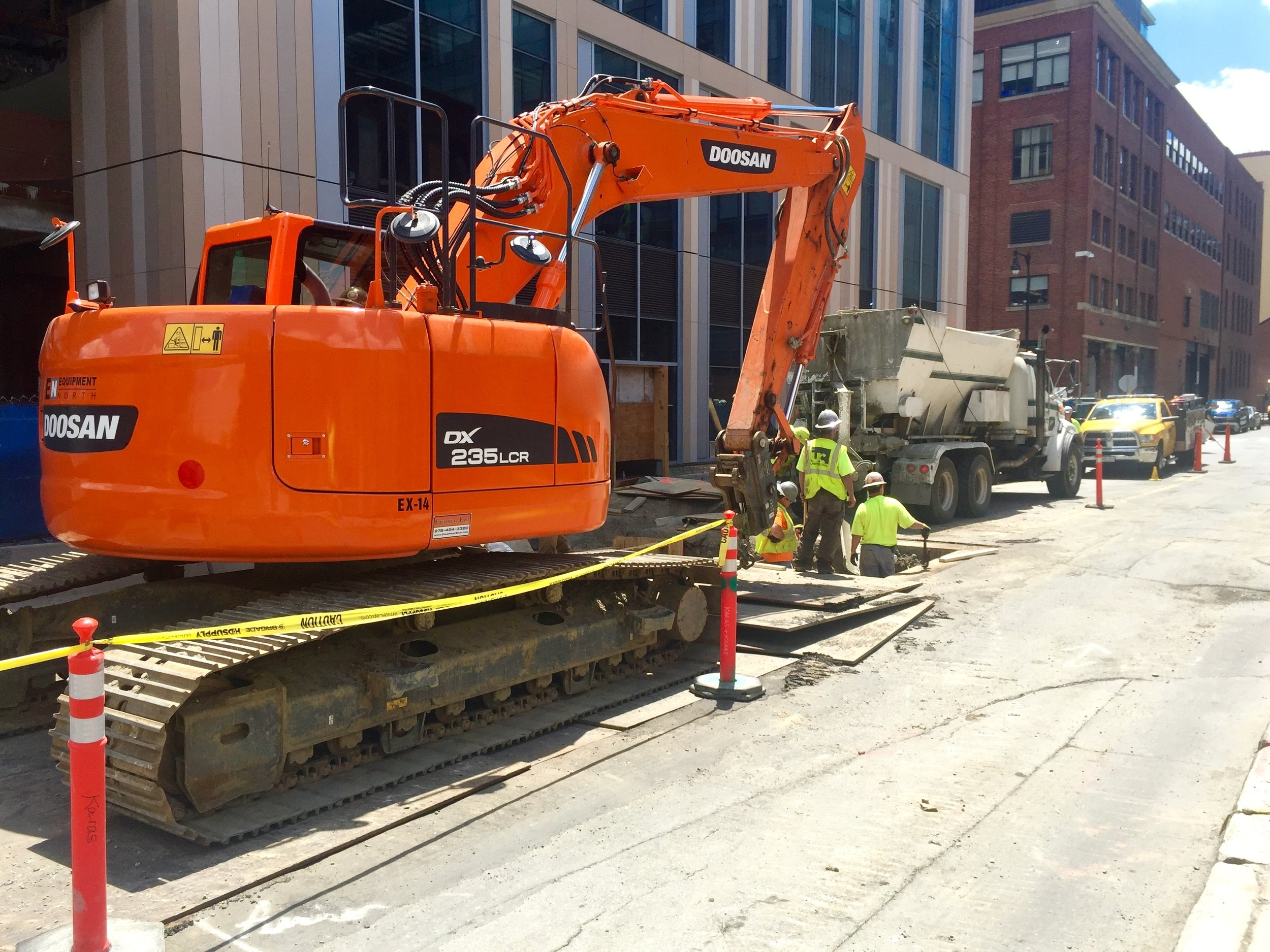 New Steam and Condensate Service on Second Street   Cambridge, MA    View More