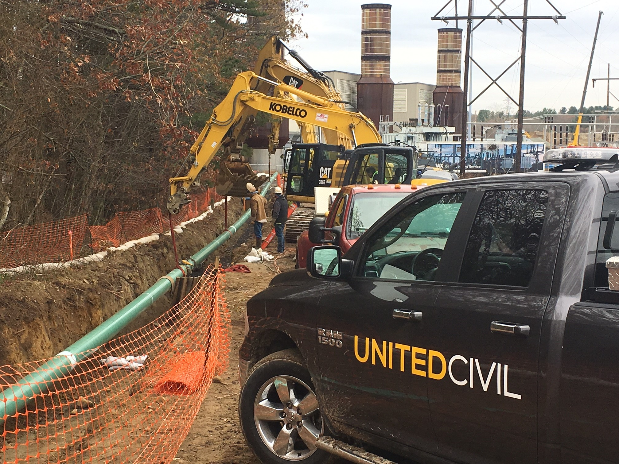 LATERAL PIPING & METER STATION MEDWAY, MA    view more