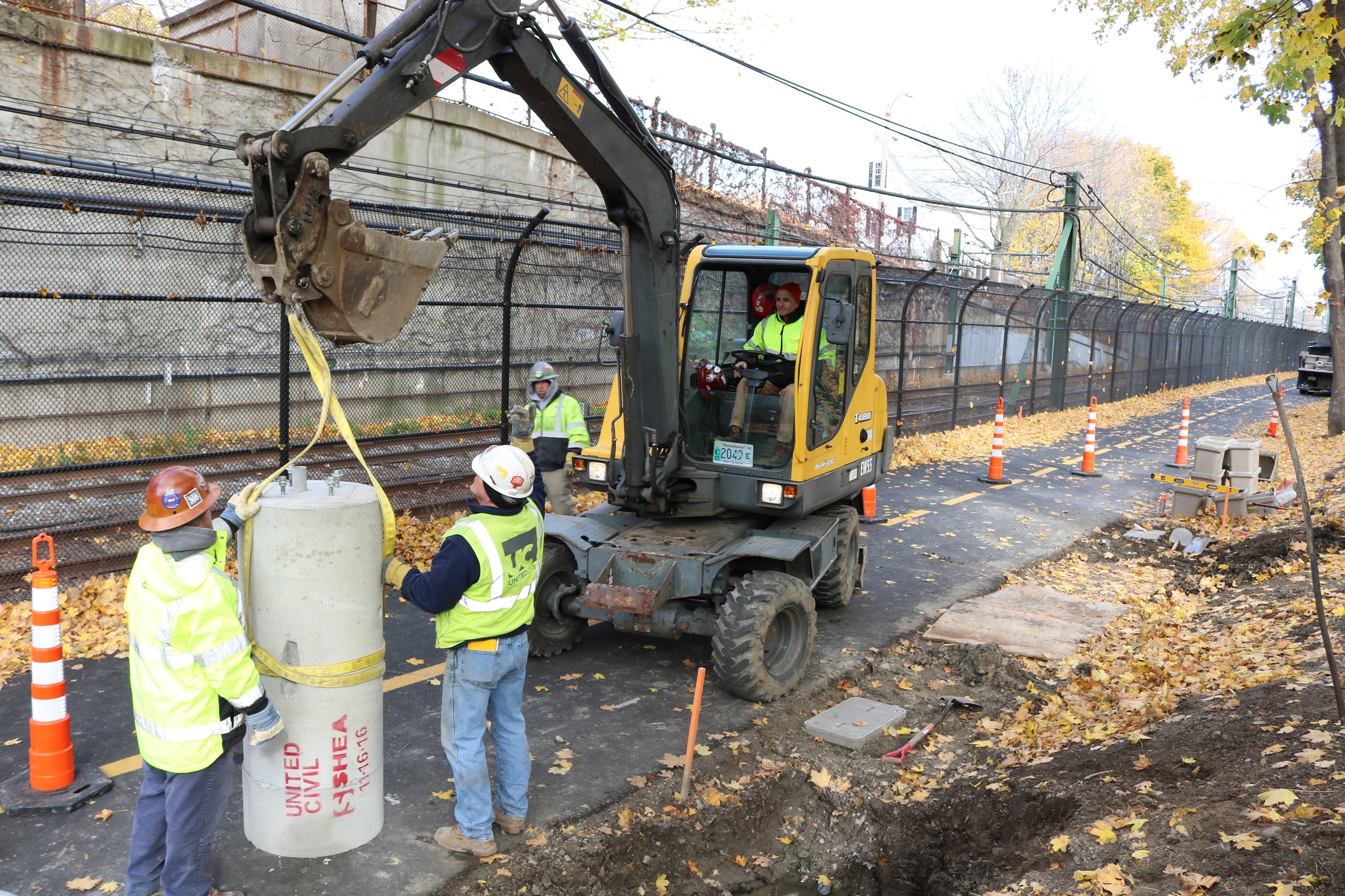MASsport narrow gauge security enhancements east boston, ma    view more