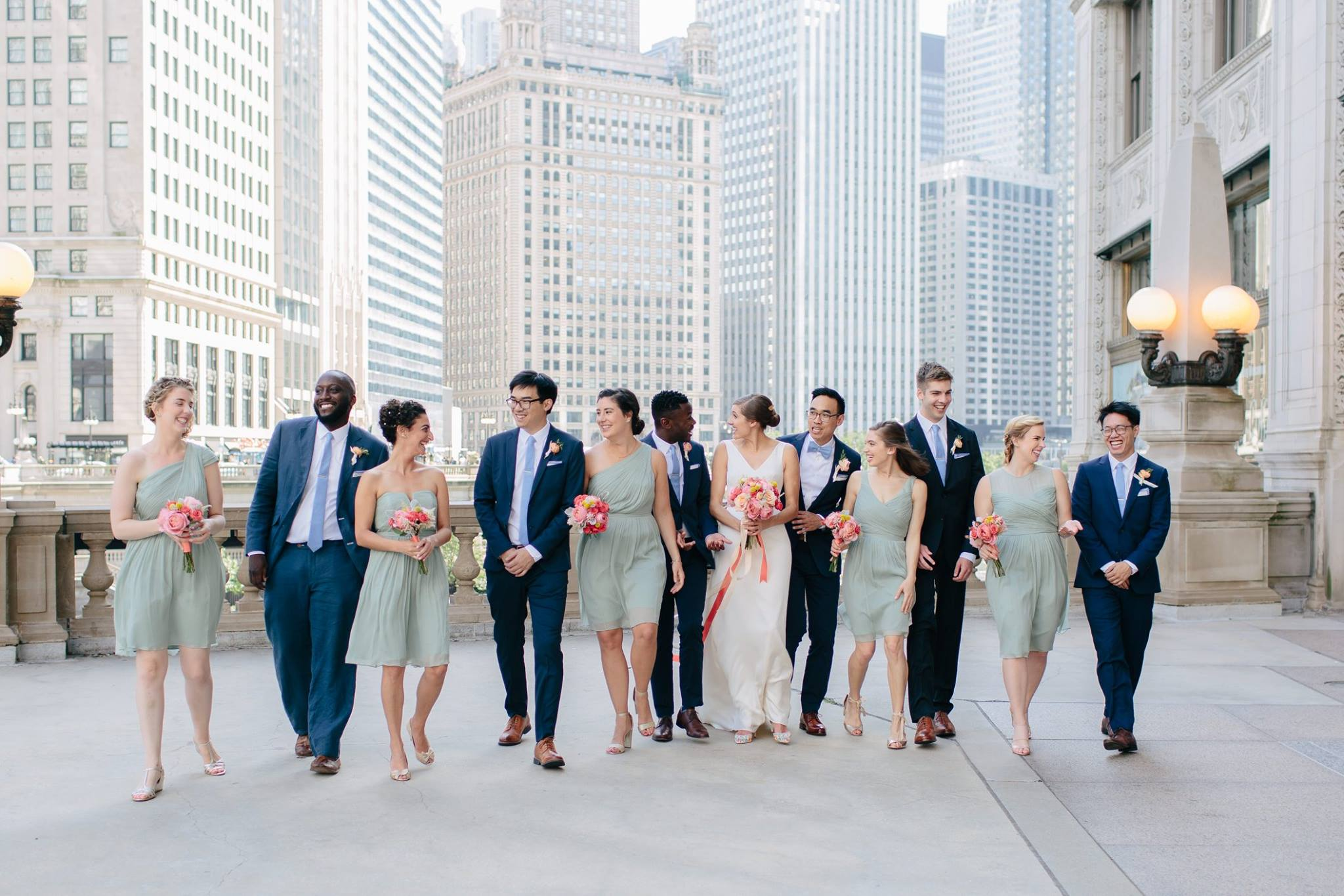 downtown_wedding_chicago_river_wrigley_building_spring