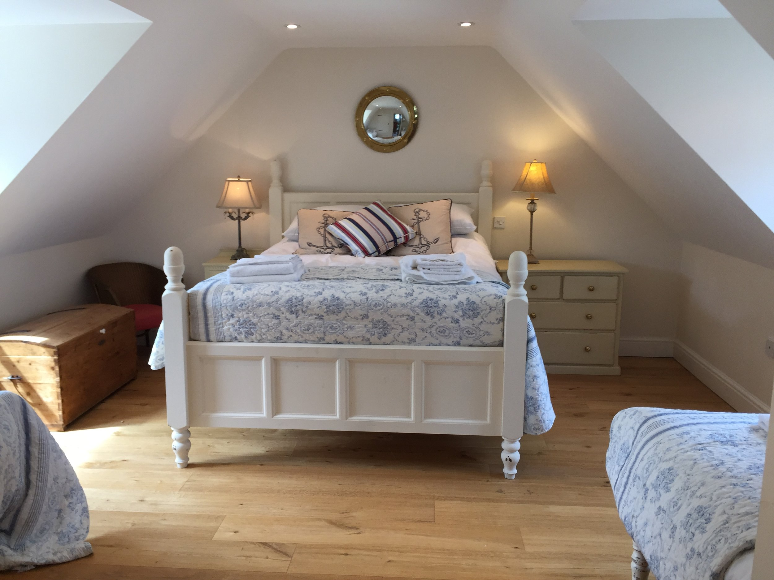 Holiday cottages Norfolk with family bedroom