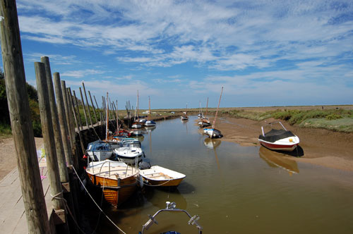 Boats Blakeney | Gardeners Cottage Blakeney