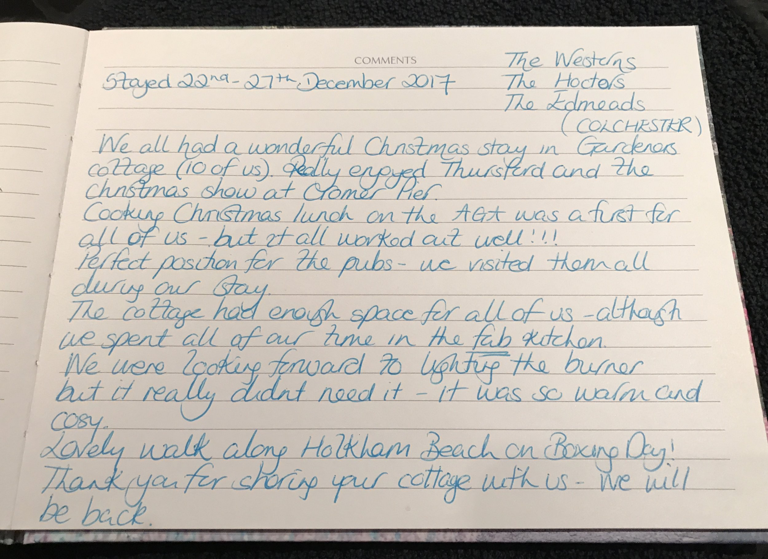 Guest book review