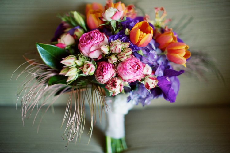 Colorful Beachside Wedding | Captured by