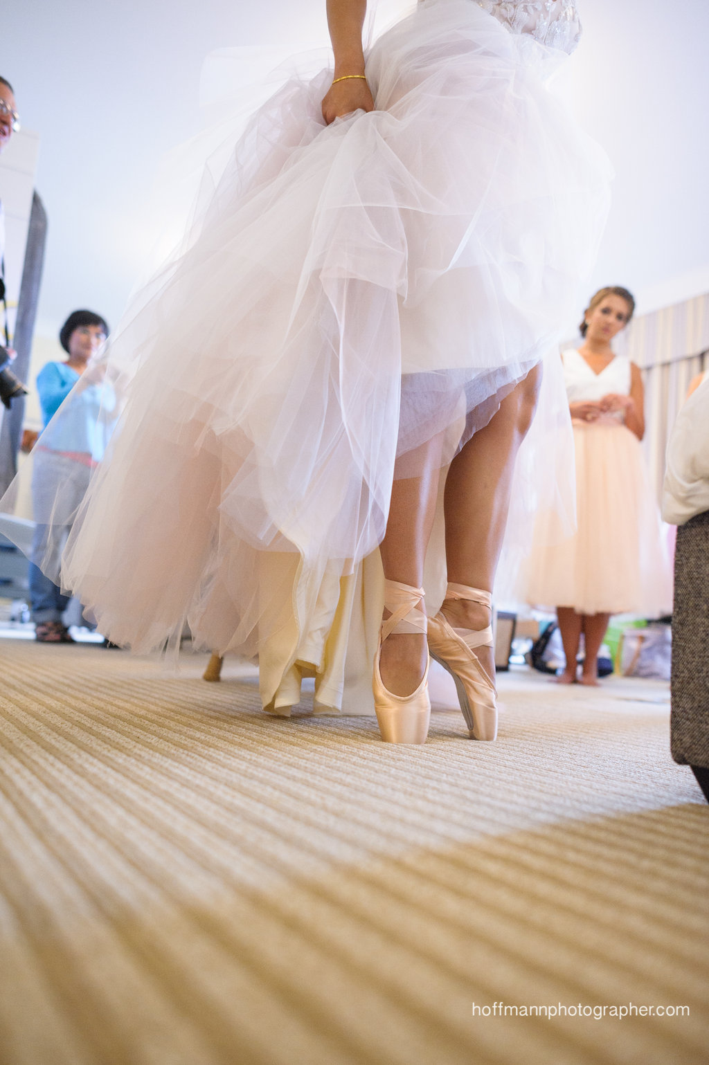 Ballet en Pointe | Captured by Hoffman Photography