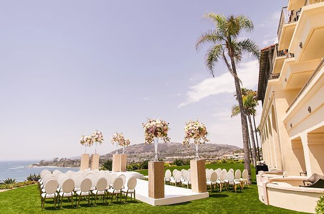 To love, laughter, and happily ever after ☀️ ⠀ #weddingceremony #wedding #luxurywedding #weddingday #weddingseason #shesaidyes #dreamwedding #instawedding #bride #groom #bridalparty #aislememories #weddinginspiration #weddingoals #weddingphotos #flowerarrangements #beachwedding #views #bestdayever #ocwedding #lagunabeach #ritzcarlton #ritzcarltonwedding #weddingvenue #weddingplanner #meleamore