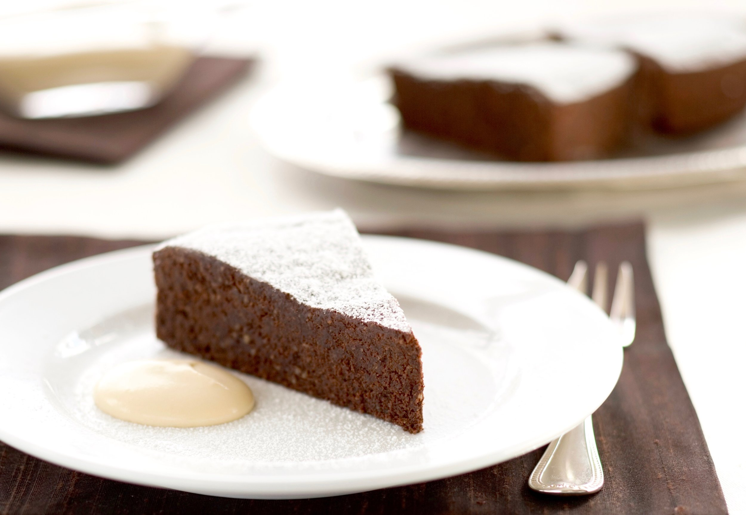 Chocolate Capri Cake with Espresso  Crema di Mascarpone