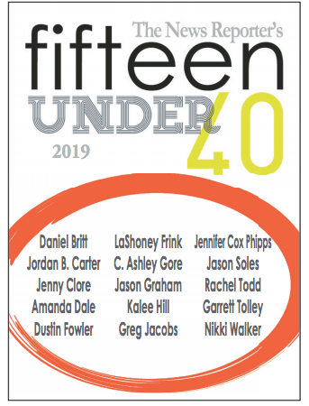 2019 Class of Fifteen under 40