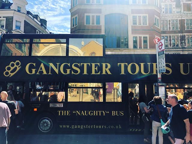 "Found the perfect bus for me ""The Naughty Bus"""