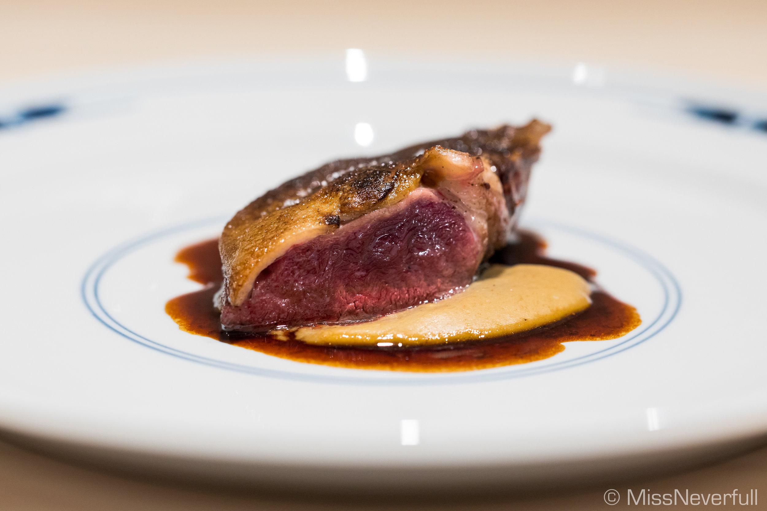 5.Roasted mallard duck from Gifu (岐阜県木曽川真鴨のロースト)