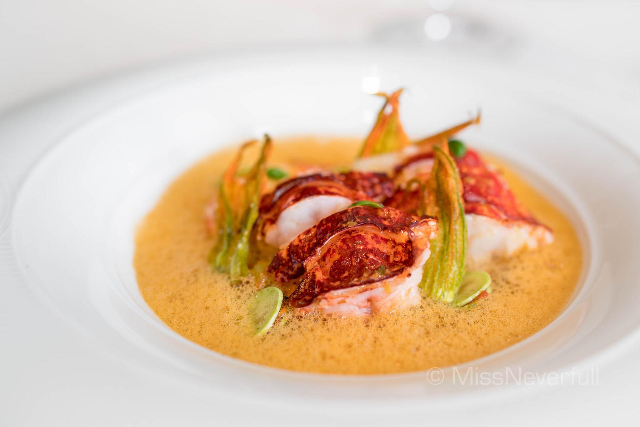 Brittany Blue Lobster (HK$520)