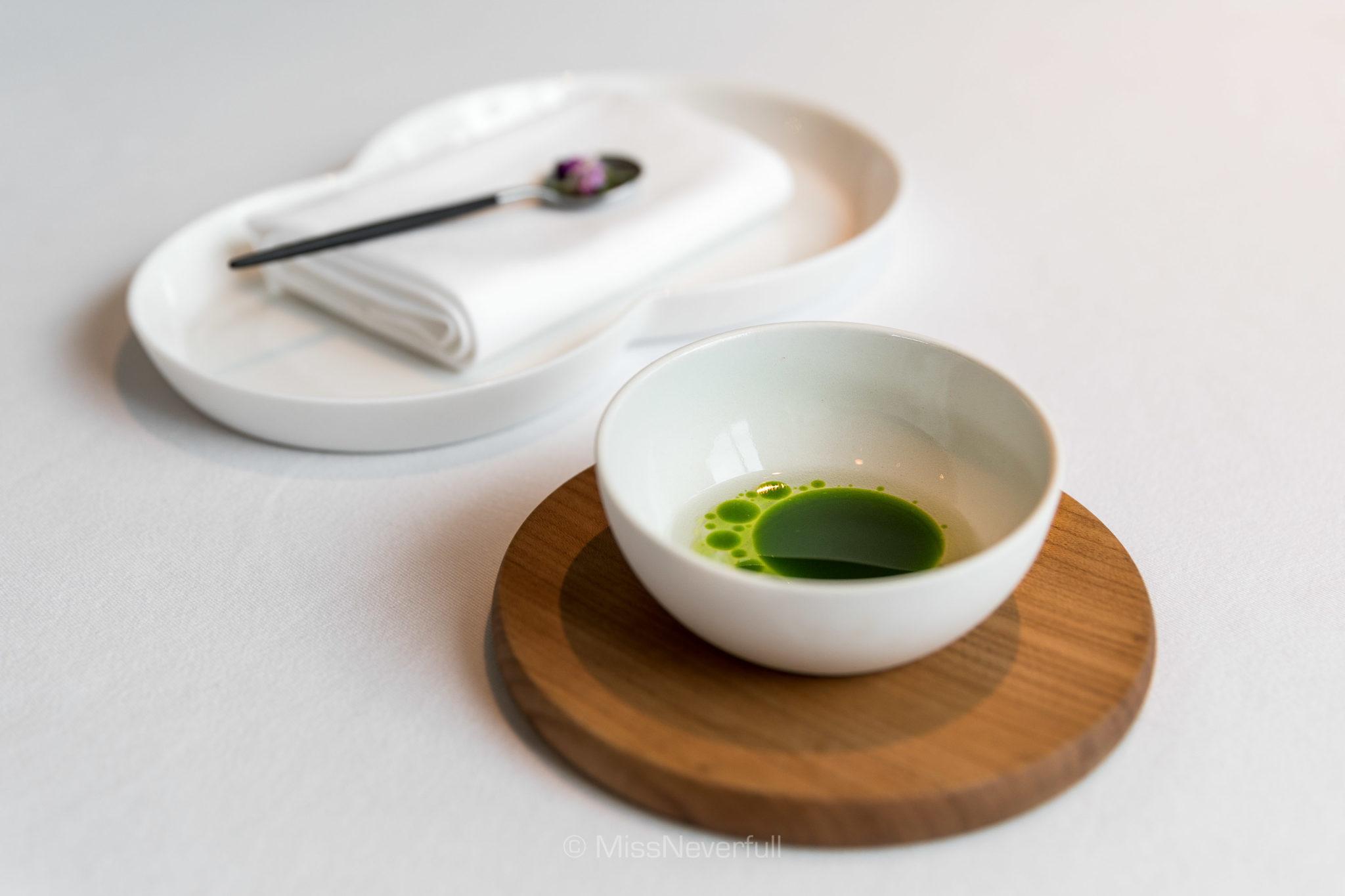1.3 Tomato water & aromatic herbs