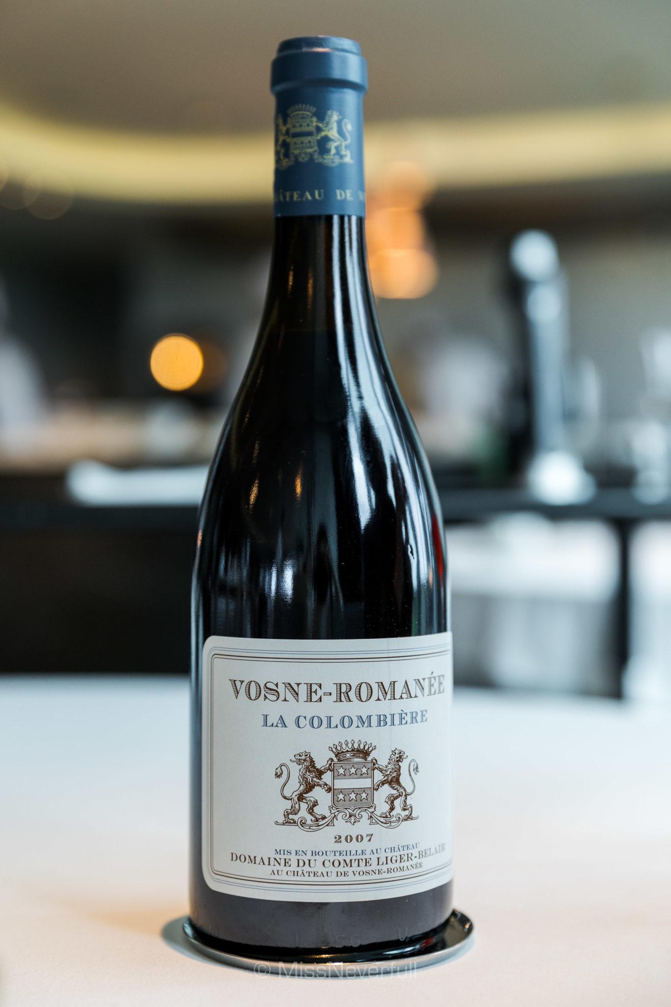 2007 Domaine du Comte Liger-Belair Vosne-Romanee La Colombiere, Cote de Nuits, France