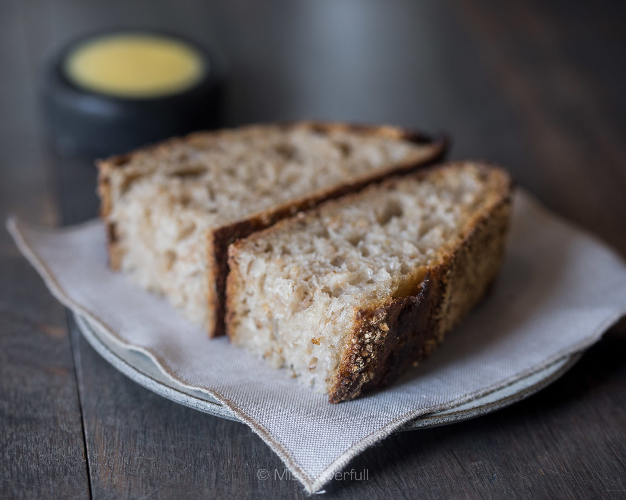 5. Natural fermented bread of Oland wheat and hulless barley