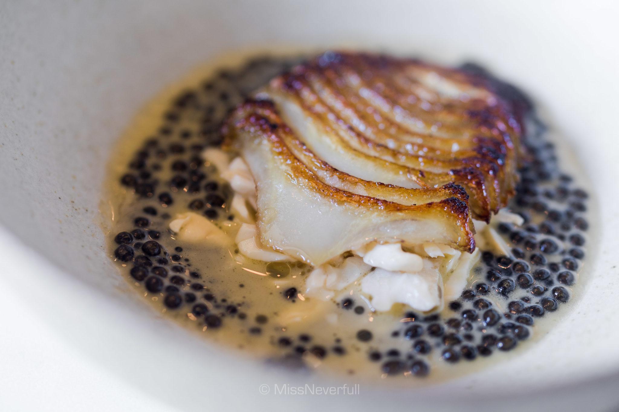 9. Artichoke and caviar