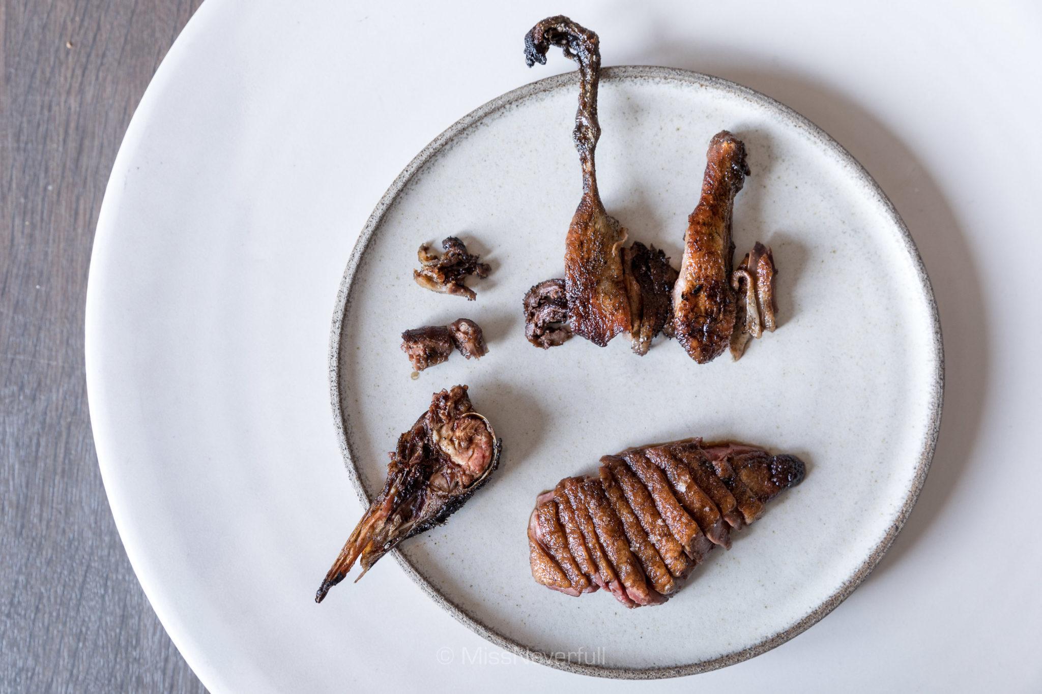 12. Whole roasted wild duck