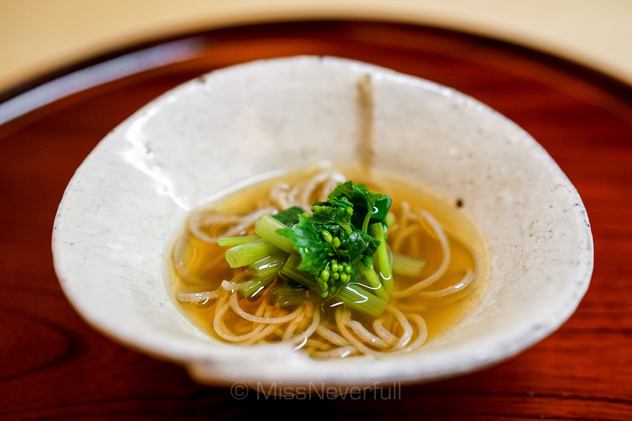 13. 手打ち十割蕎麦と山菜 | Handmade 100% buckwheat soba, moutain vegetables