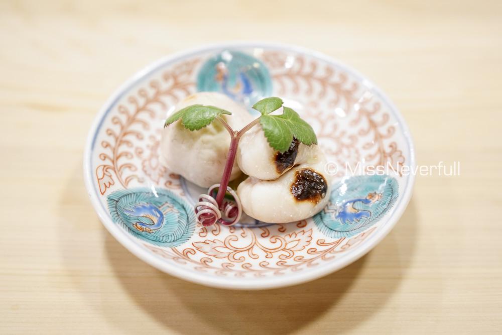 ふぐの白子焼き | Grilled Fugu's Shirako
