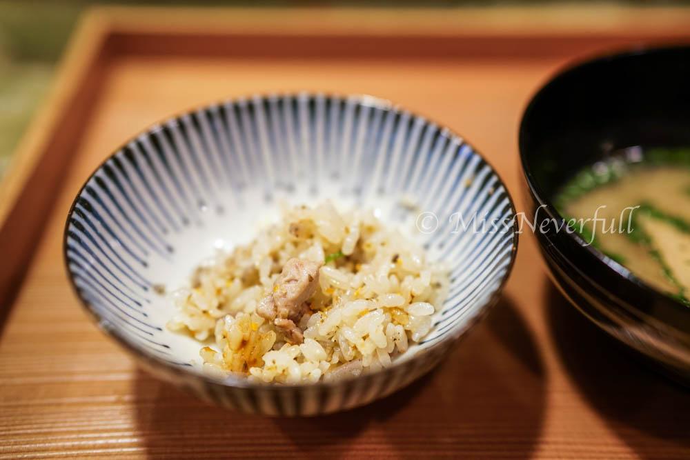 9. RIce: chicken claypot rice
