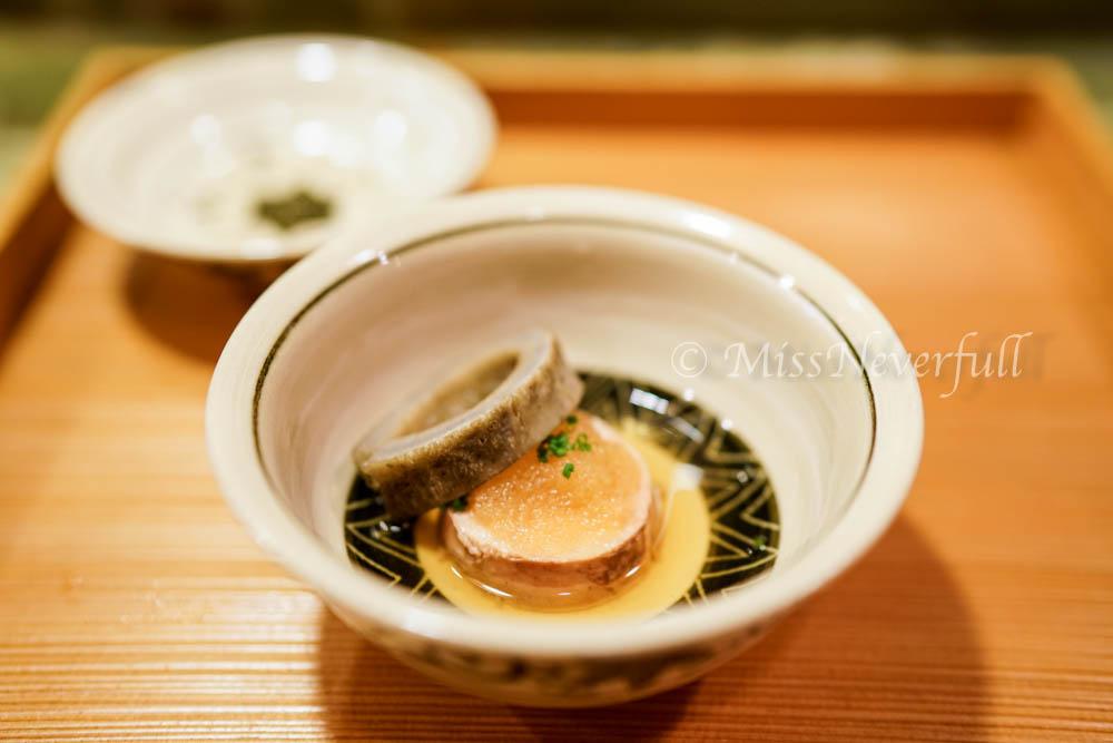7. Ankimo (monkfish liver) - In season yeah!