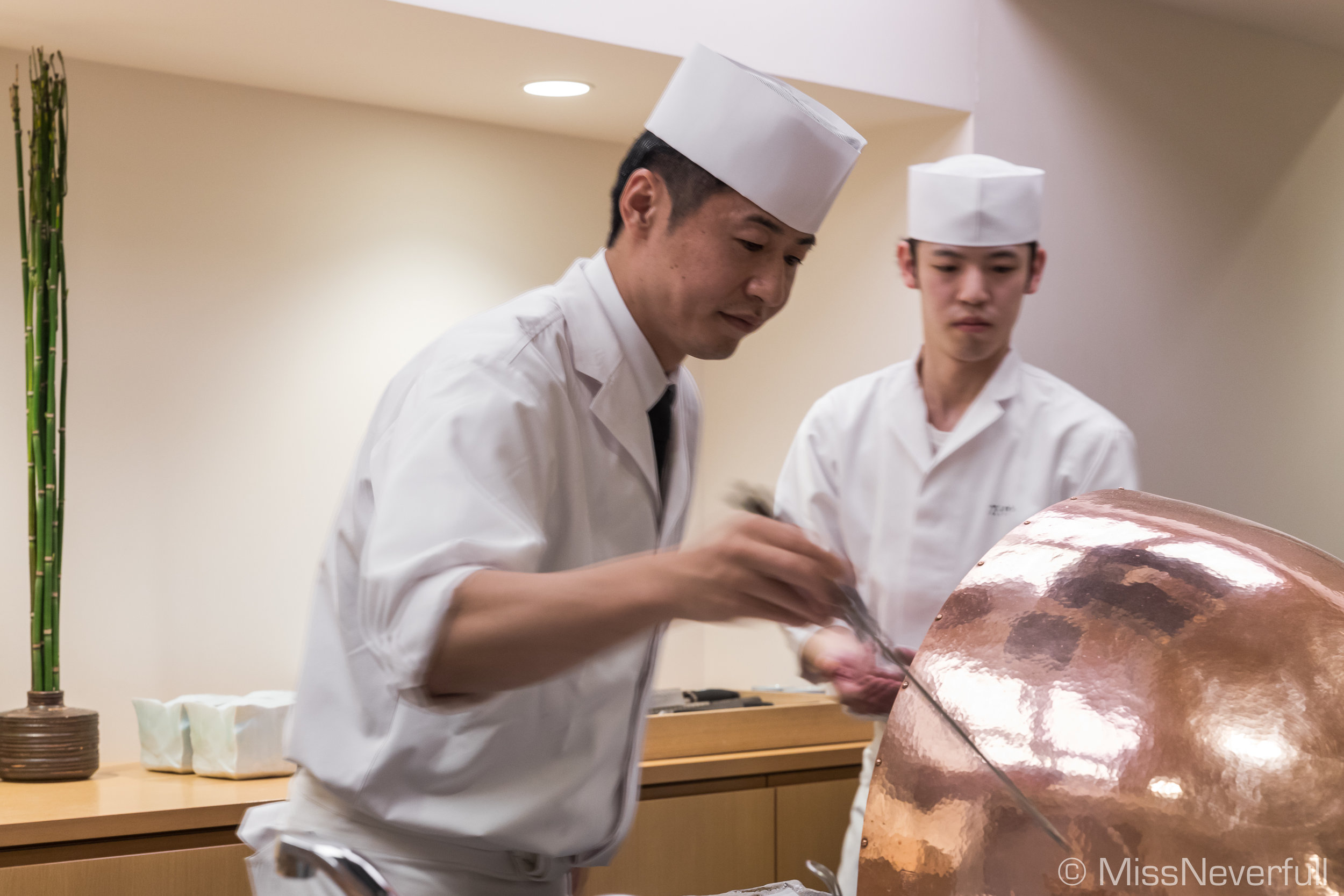 Chef Tatsuaki Kasamoto (笠本辰明)