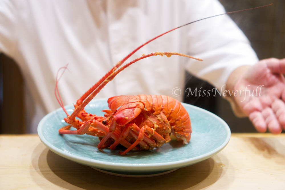 Mr. Lobster was back again!