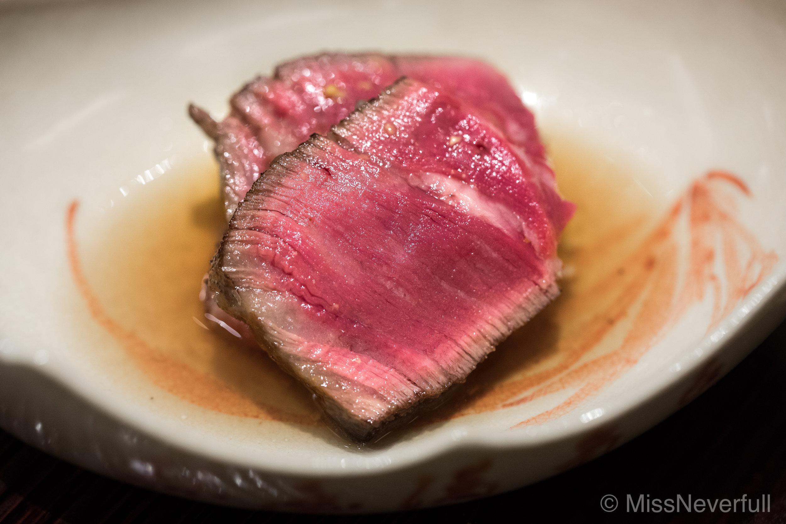 13.群馬のビフのロスト Roasted Gunma beef