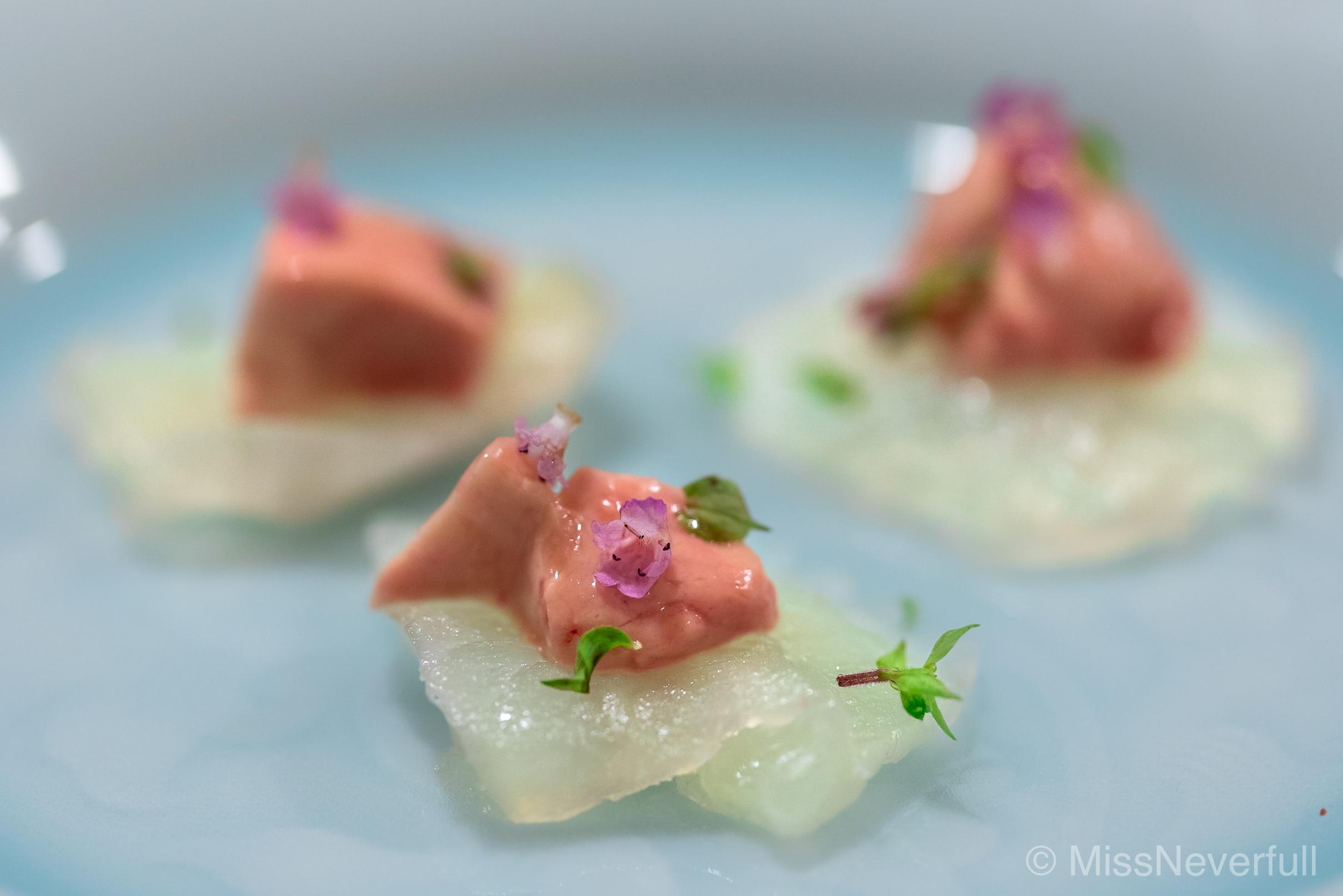 3. Kawahagi sashimi
