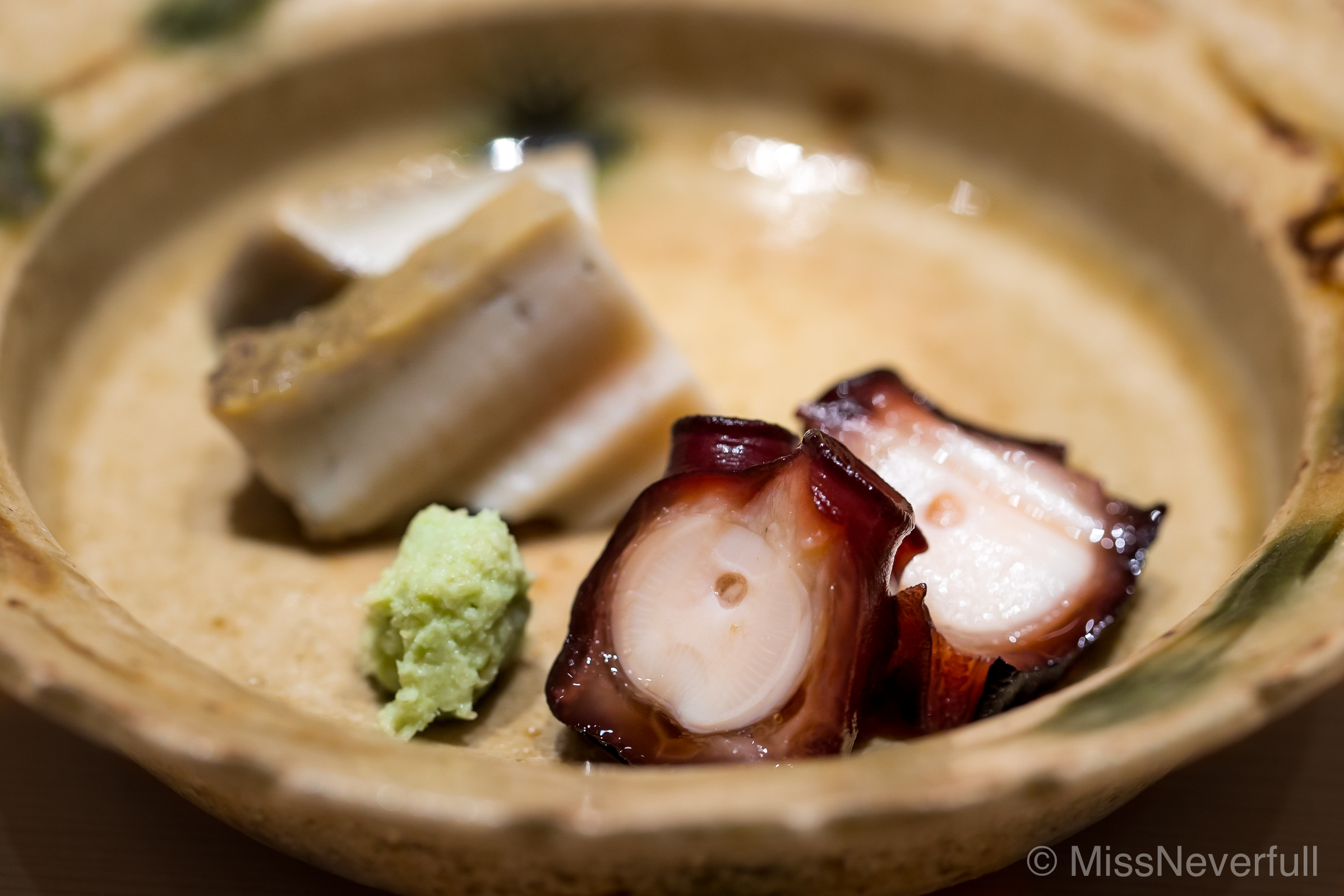 Ostumami 2: Octopus and Abalone - still my favorite octopus tsumami!