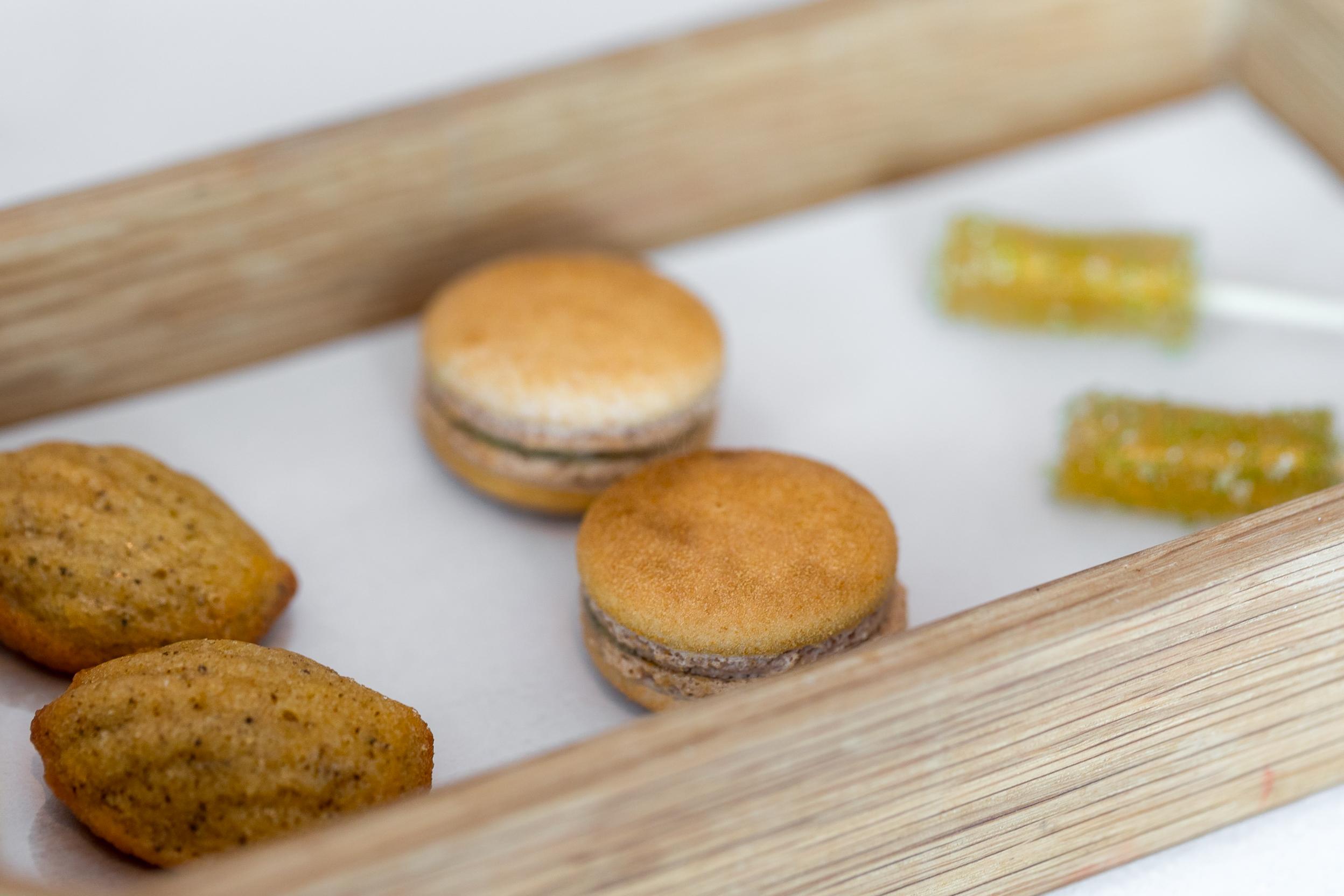 Guinettes Madeleine, Kaya Toast, Vergus and Pine Floss