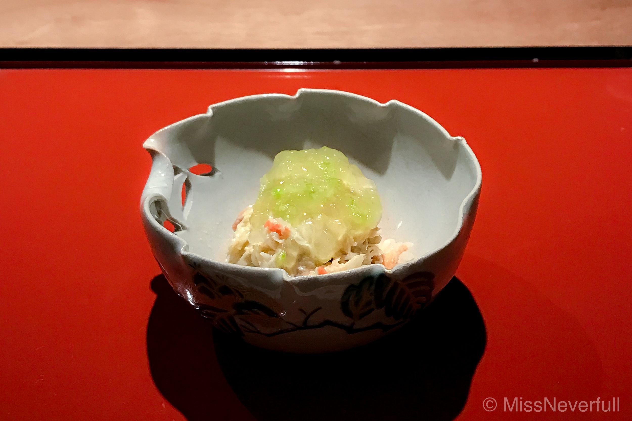 3.Kegani & green apple jelly
