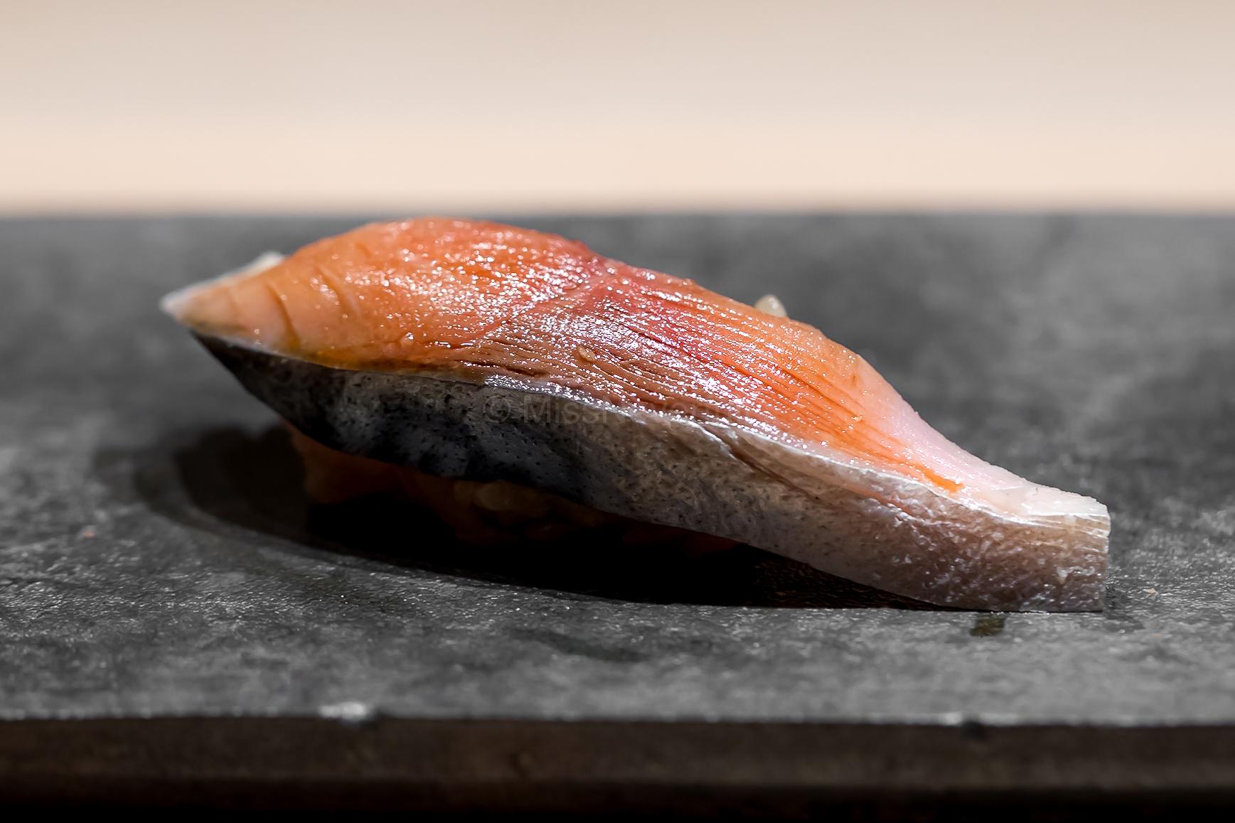 4. Shime-saba (cured mackerel)