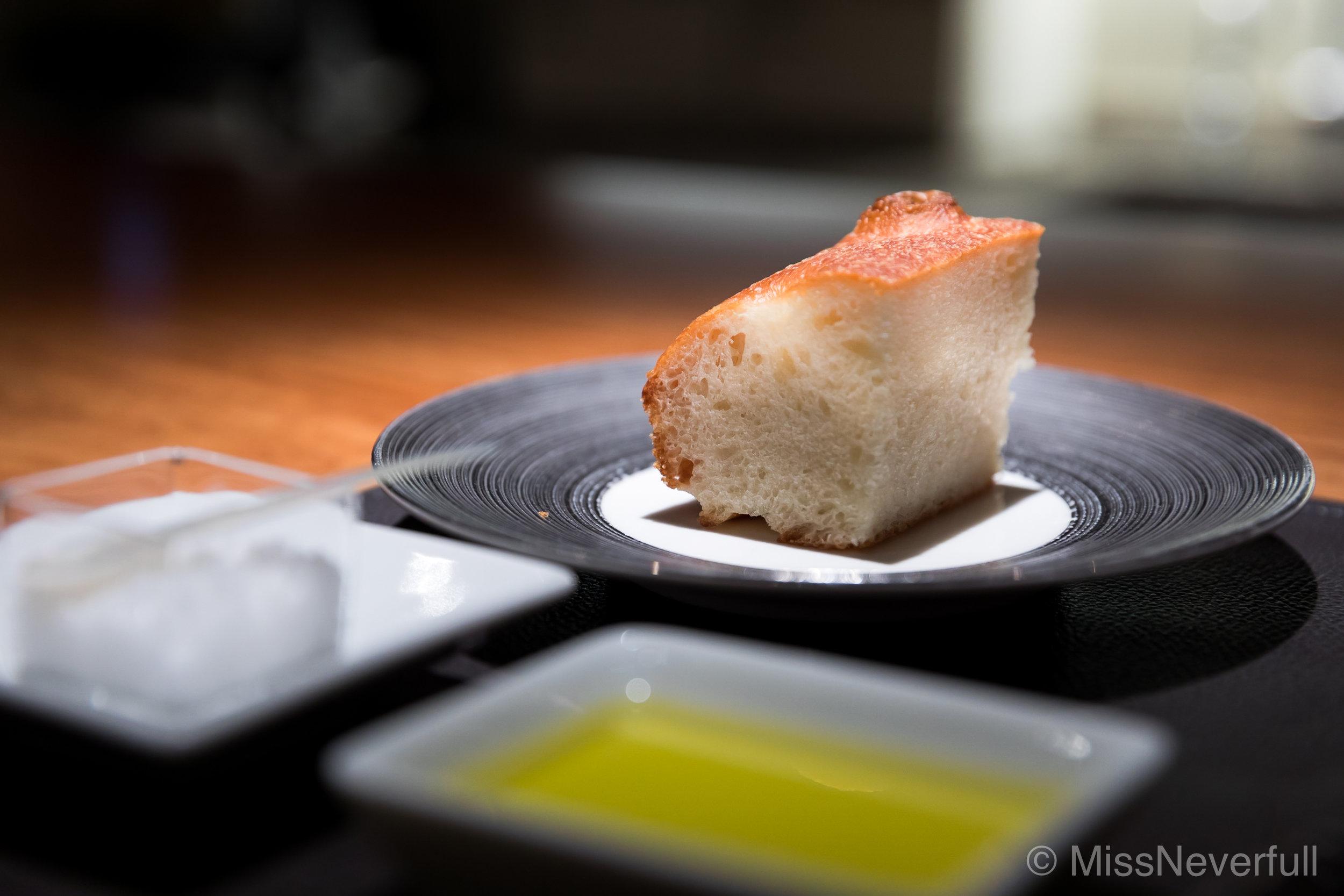 Bread, olive oil & sea salt