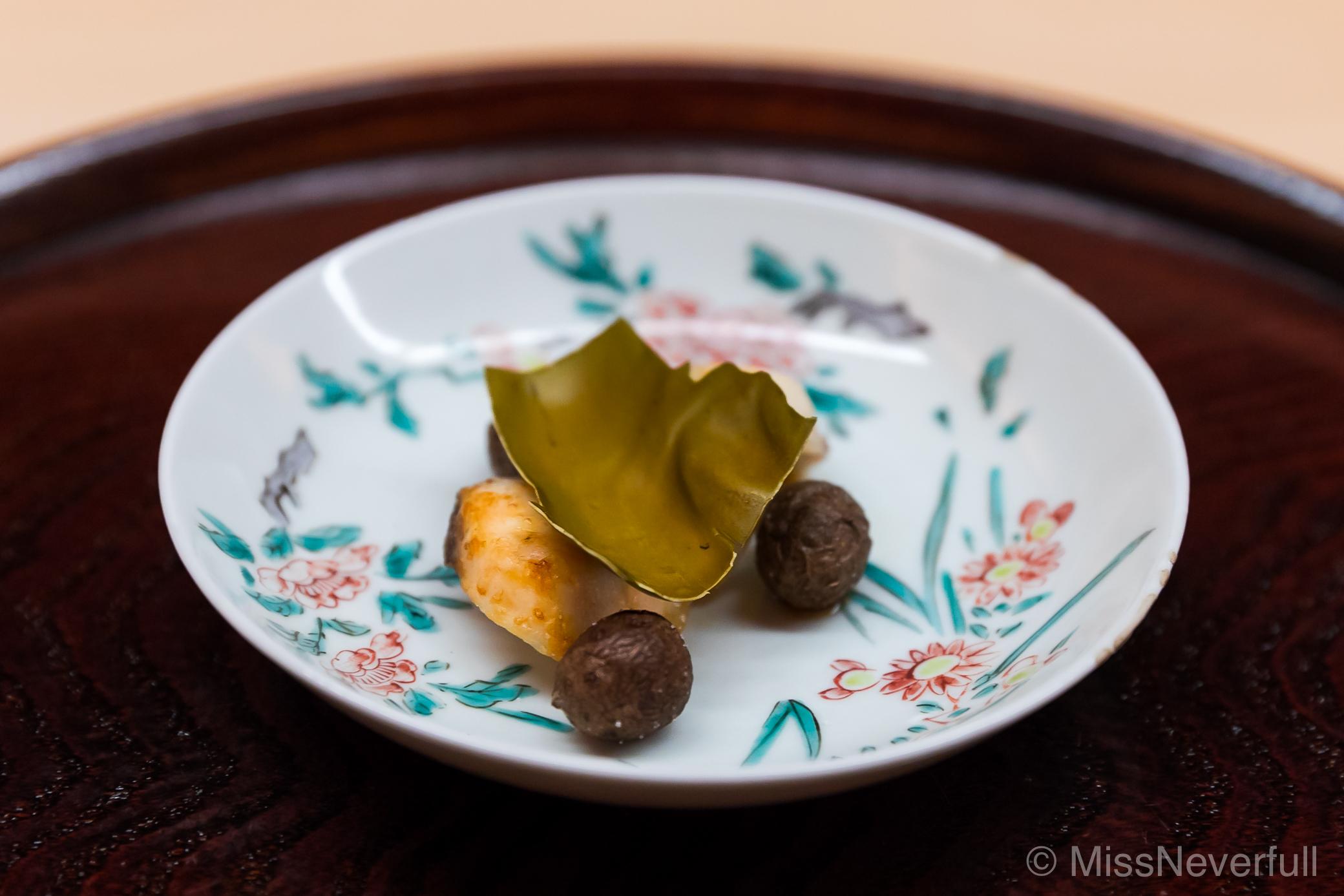 8. Grilled Sawara, baby potatoes