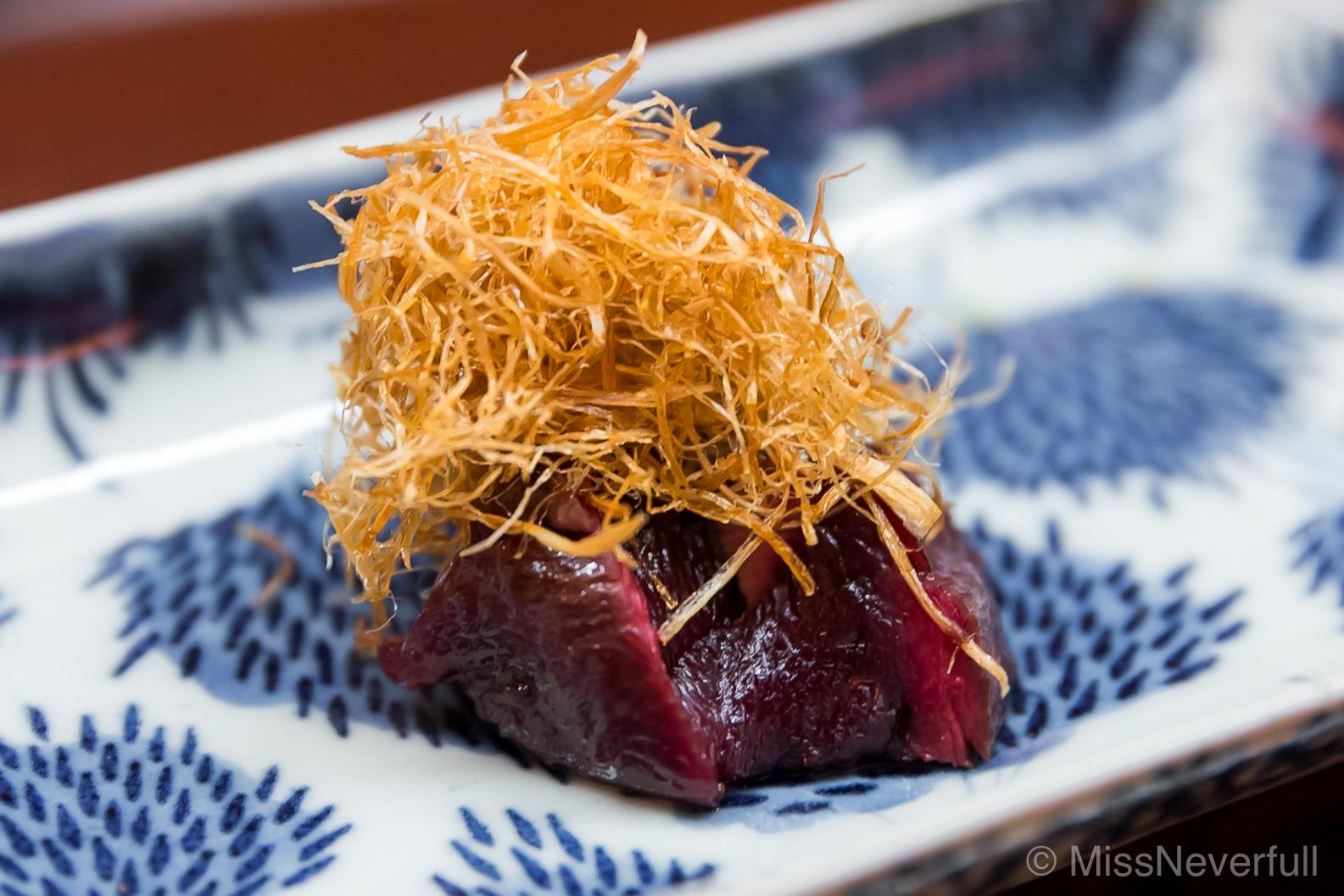 9. Aokubi duck, deep-fried sobo 青首鴨